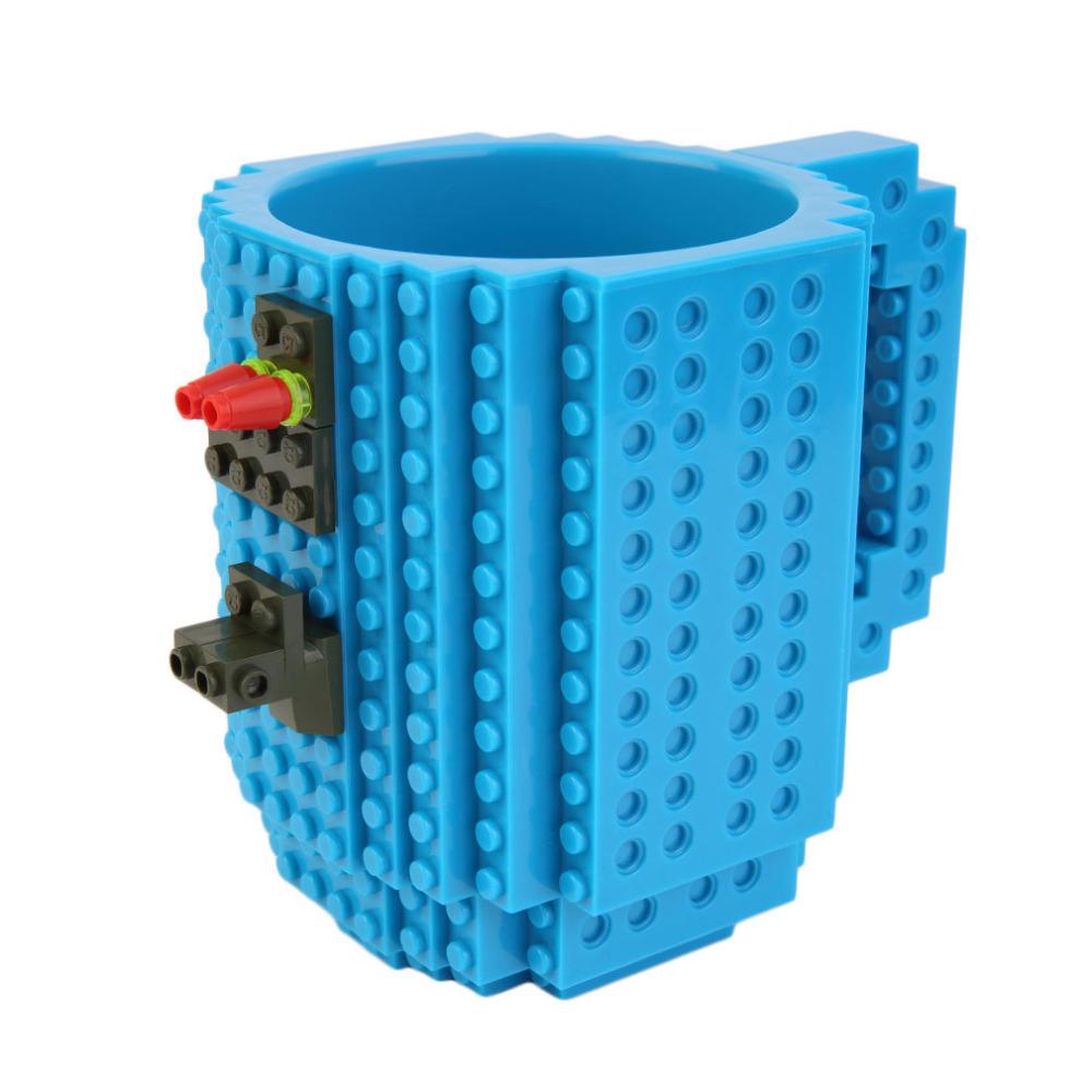 Build On Brick Mug Happy Blocks And Toys Minecraft Assembling Building Block Toy