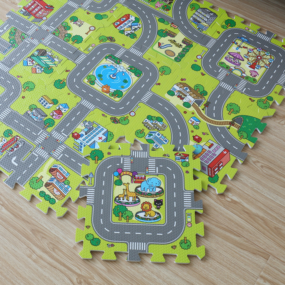 Foam Vehicle Puzzle Mat