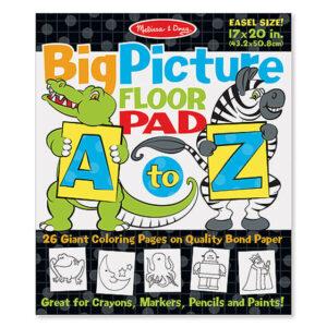 9104 Abc 123 Dot To Dot Coloring Pad Wild Animals Happy Blocks
