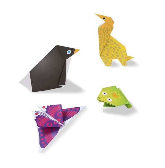 9442 On The Go Crafts Origami Animals Happy Blocks And Toys