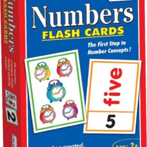 8-0520 – Creatives Numbers Flash Cards